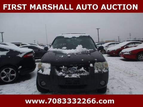 2005 Ford Escape for sale at First Marshall Auto Auction in Harvey IL