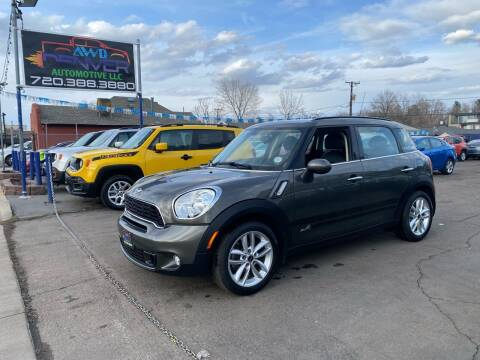 2014 MINI Countryman for sale at AWD Denver Automotive LLC in Englewood CO