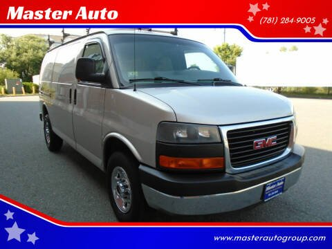 2009 GMC Savana Cargo for sale at Master Auto in Revere MA