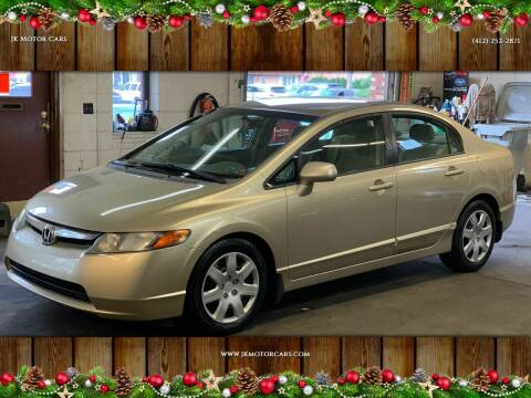 2008 Honda Civic for sale at JK Motor Cars in Pittsburgh PA