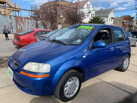 2005 Chevrolet Aveo for sale at Barnes Auto Group in Chicago IL
