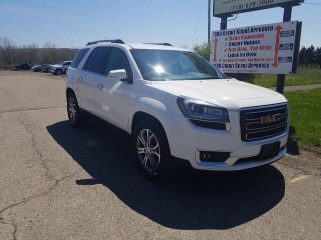 2015 GMC Acadia for sale at Sensible Sales & Leasing in Fredonia NY