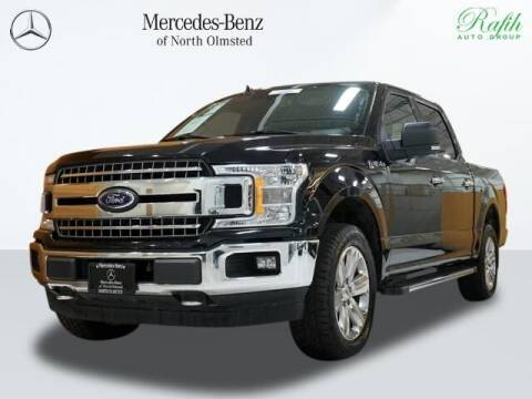 2018 Ford F-150 for sale at Mercedes-Benz of North Olmsted in North Olmstead OH