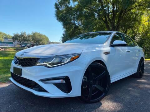 2019 Kia Optima for sale at Powerhouse Automotive in Tampa FL