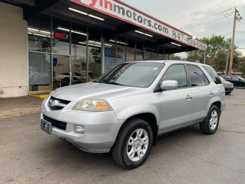 2005 Acura MDX for sale at TOP YIN MOTORS in Mount Prospect IL