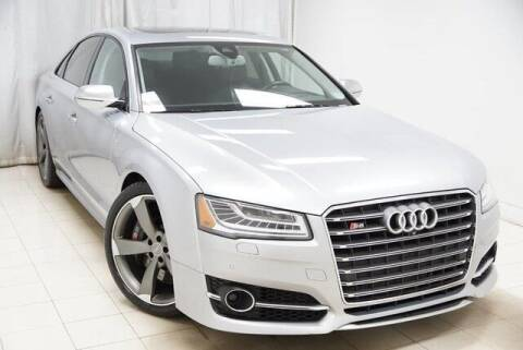 2016 Audi S8 for sale at EMG AUTO SALES in Avenel NJ
