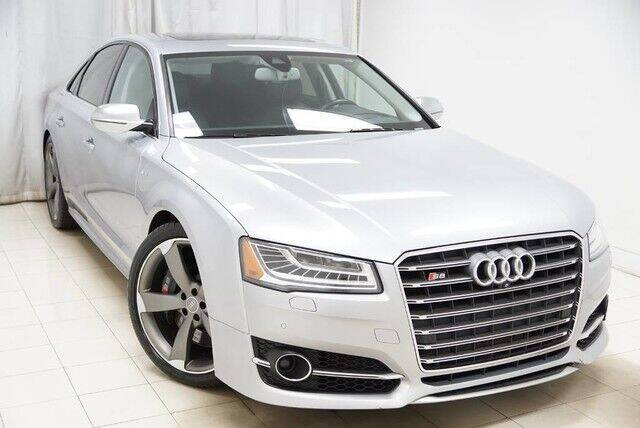2016 Audi S8 for sale at EMG AUTO SALES in Avenel NJ