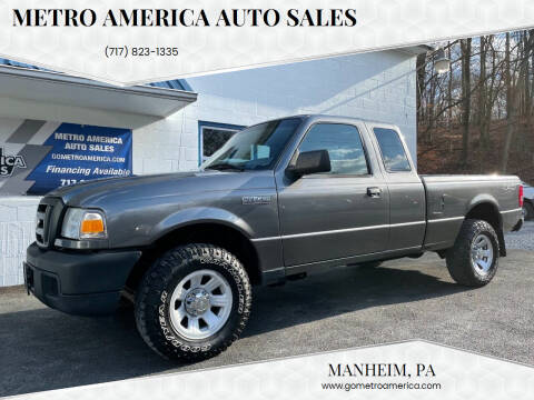 2007 Ford Ranger for sale at METRO AMERICA AUTO SALES of Manheim in Manheim PA