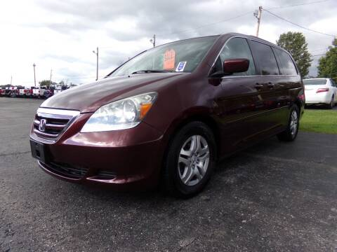 2007 Honda Odyssey for sale at Pool Auto Sales Inc in Spencerport NY