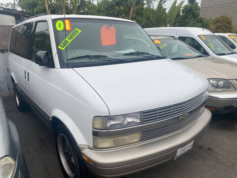 2001 Chevrolet Astro for sale at North County Auto in Oceanside CA