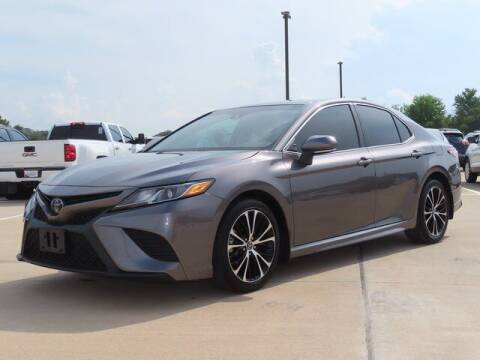 2018 Toyota Camry for sale at BIG STAR HYUNDAI in Houston TX