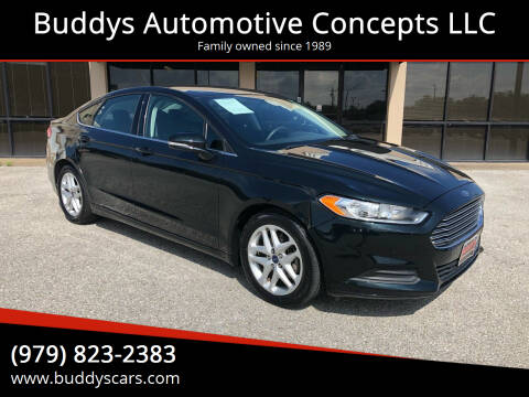 2014 Ford Fusion for sale at Buddys Automotive Concepts LLC in Bryan TX