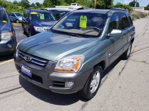2008 Kia Sportage for sale at Howe's Auto Sales in Lowell MA
