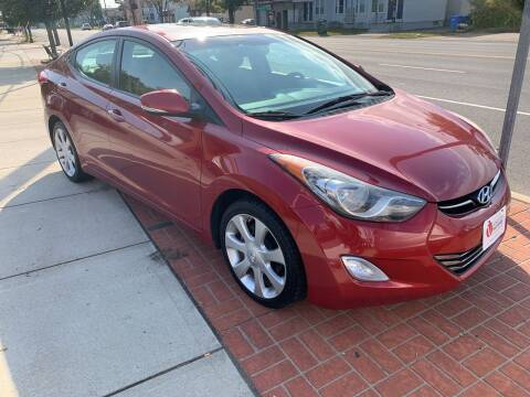 2012 Hyundai Elantra for sale at Viscuso Motors in Hamden CT