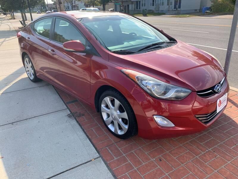 2012 Hyundai Elantra for sale at Viscuso Motors in Hamden CT