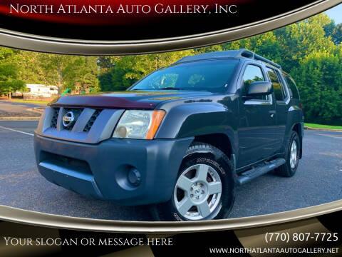 2008 Nissan Xterra for sale at North Atlanta Auto Gallery, Inc in Alpharetta GA
