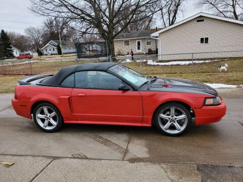 2000 Ford Mustang for sale at RIVERSIDE AUTO SALES in Sioux City IA