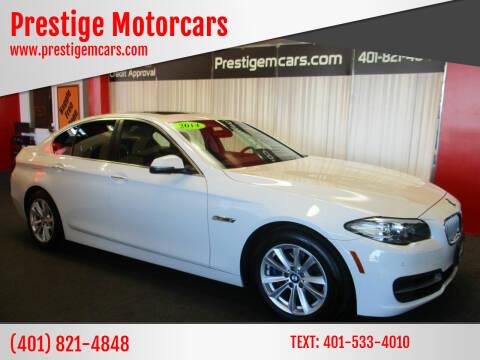 2014 BMW 5 Series for sale at Prestige Motorcars in Warwick RI