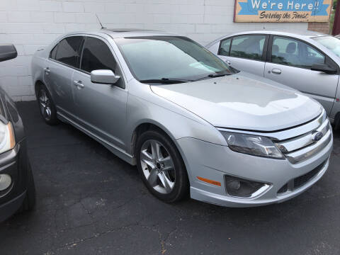 2010 Ford Fusion for sale at Holiday Auto Sales in Grand Rapids MI