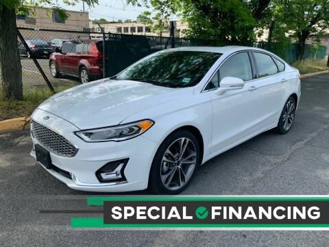 2020 Ford Fusion for sale at Eastclusive Motors LLC in Hasbrouck Heights NJ