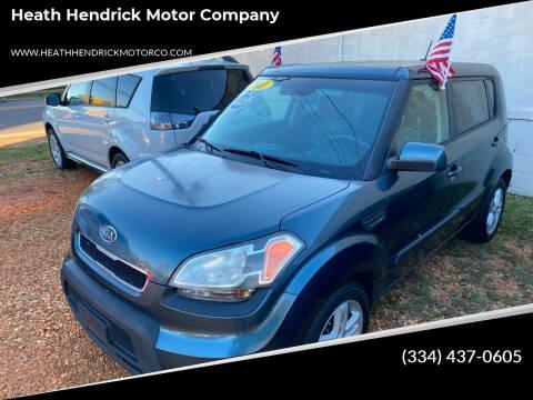 2011 Kia Soul for sale at Heath Hendrick Motor Company in Greenville AL