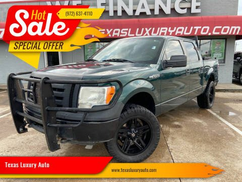 2011 Ford F-150 for sale at Texas Luxury Auto in Cedar Hill TX