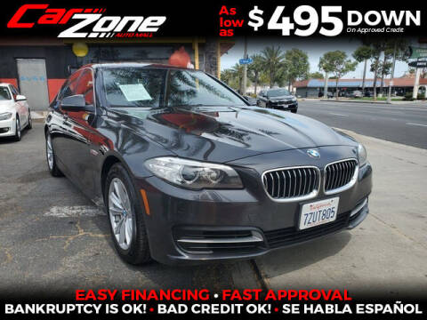 2014 BMW 5 Series for sale at Carzone Automall in South Gate CA