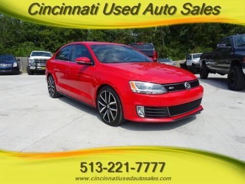 2013 Volkswagen Jetta for sale at Cincinnati Used Auto Sales in Cincinnati OH