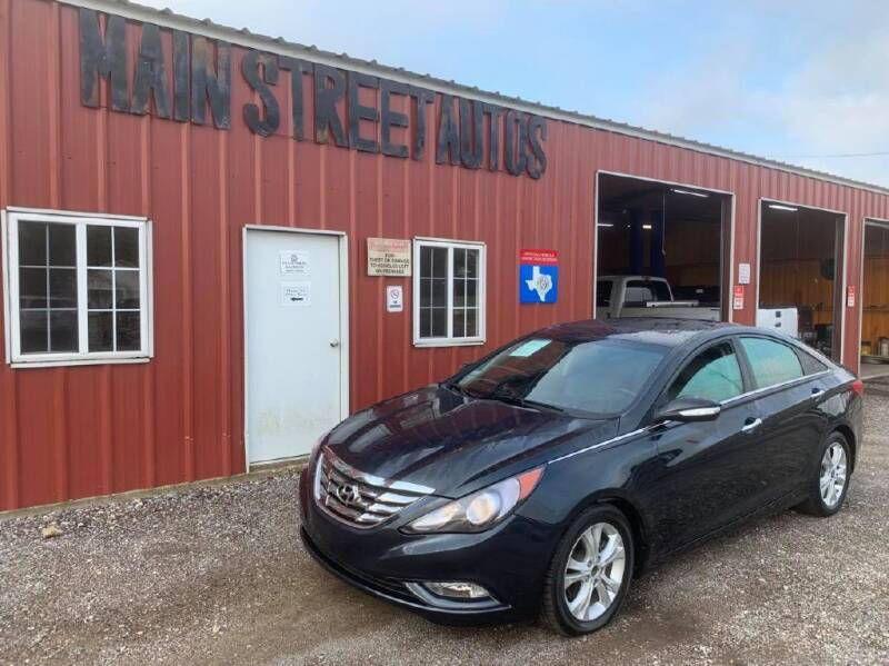 2011 Hyundai Sonata for sale at Main Street Autos Sales and Service LLC in Whitehouse TX