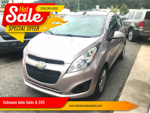 2013 Chevrolet Spark for sale at Coliseum Auto Sales & SVC in Charlotte NC