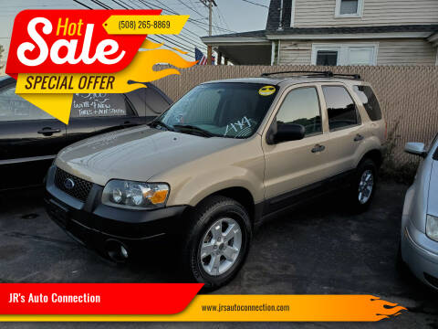 2007 Ford Escape for sale at JR's Auto Connection in Hudson NH