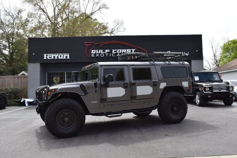 1999 AM General Hummer for sale at Gulf Coast Exotic Auto in Biloxi MS