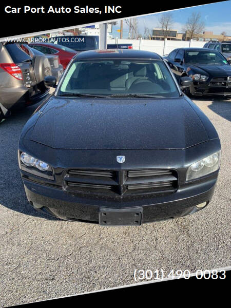 2008 Dodge Charger for sale at Car Port Auto Sales, INC in Laurel MD