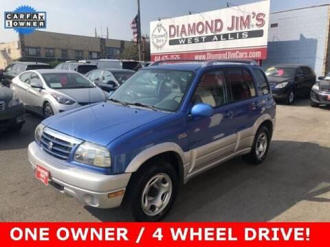 2004 Suzuki Grand Vitara for sale at Diamond Jim's West Allis in West Allis WI