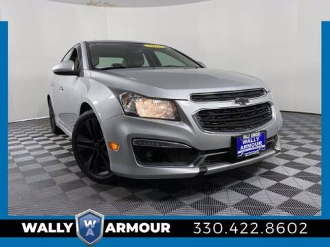2015 Chevrolet Cruze for sale at Wally Armour Chrysler Dodge Jeep Ram in Alliance OH