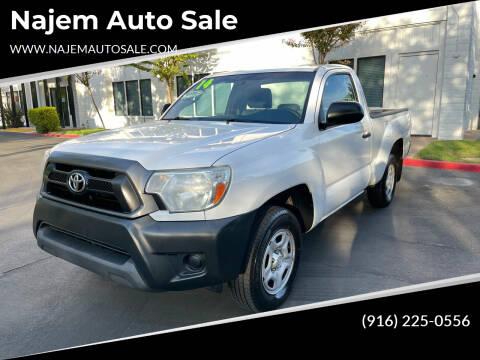 2014 Toyota Tacoma for sale at Najem Auto Sale in Sacramento CA