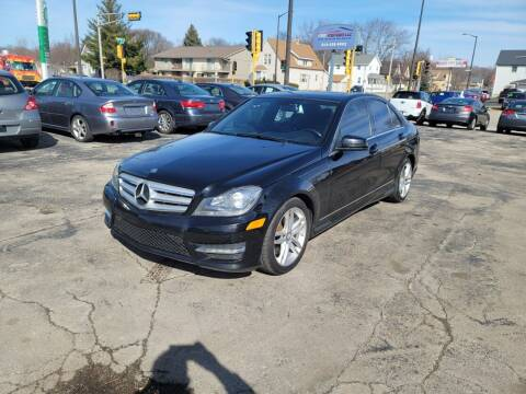 2013 Mercedes-Benz C-Class for sale at MOE MOTORS LLC in South Milwaukee WI