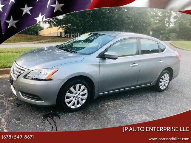 2014 Nissan Sentra for sale at JP Auto Enterprise LLC in Duluth GA