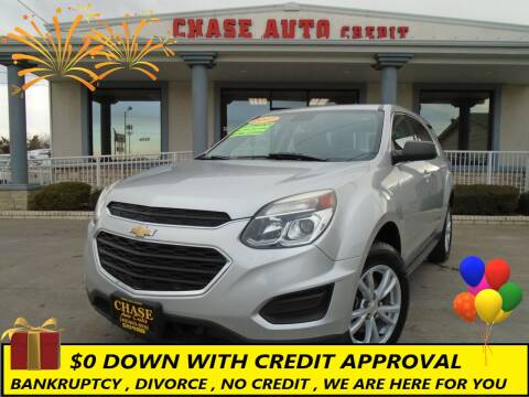 2017 Chevrolet Equinox for sale at Chase Auto Credit in Oklahoma City OK