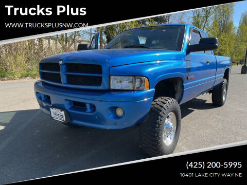 2001 Dodge Ram Pickup 2500 for sale at Trucks Plus in Seattle WA