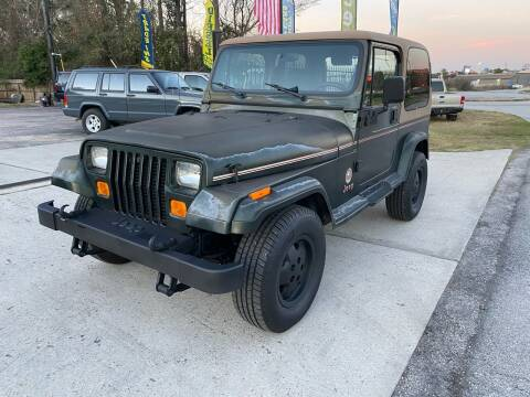 1995 Jeep Wrangler for sale at AUTO CARE TODAY in Spring TX