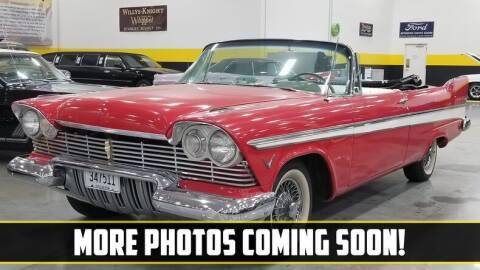 1957 Plymouth Belvedere for sale at UNIQUE SPECIALTY & CLASSICS in Mankato MN