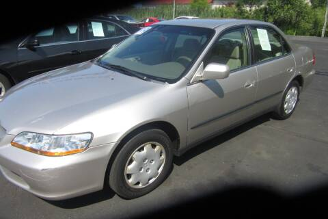 1999 Honda Accord for sale at Burgess Motors Inc in Michigan City IN