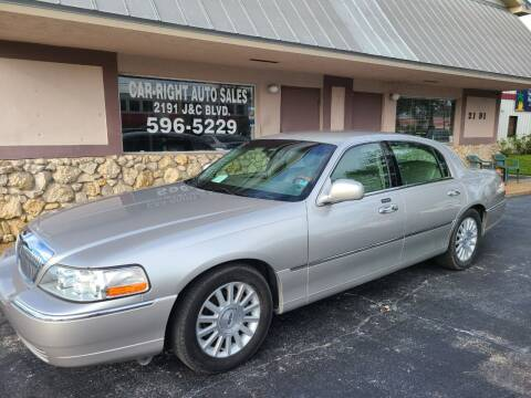 2004 Lincoln Town Car for sale at CAR-RIGHT AUTO SALES INC in Naples FL