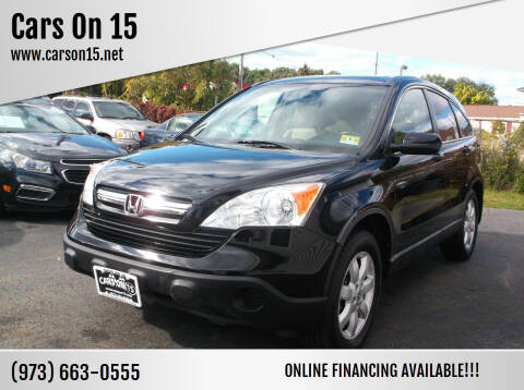 2008 Honda CR-V for sale at Cars On 15 in Lake Hopatcong NJ