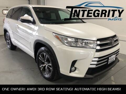 2017 Toyota Highlander for sale at Integrity Motors, Inc. in Fond Du Lac WI