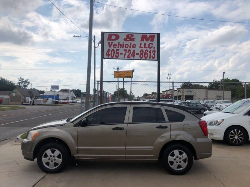 2008 Dodge Caliber for sale at D & M Vehicle LLC in Oklahoma City OK