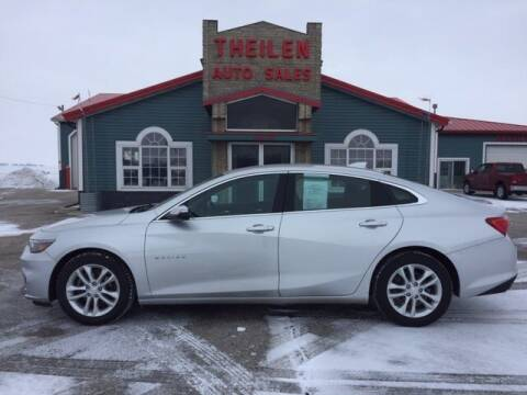 2018 Chevrolet Malibu for sale at THEILEN AUTO SALES in Clear Lake IA
