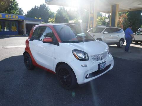 2016 Smart fortwo for sale at Brooks Motor Company, Inc in Milwaukie OR