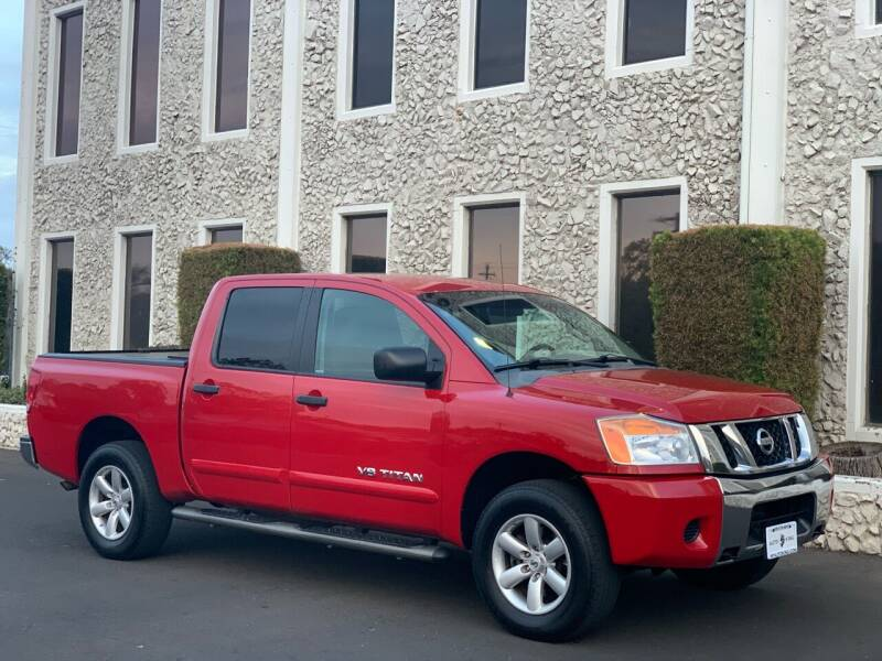 2012 Nissan Titan for sale at Auto King in Roseville CA